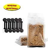 (200Pcs)100pcs Translucent Plastic Bags/Cellophane Bags with...