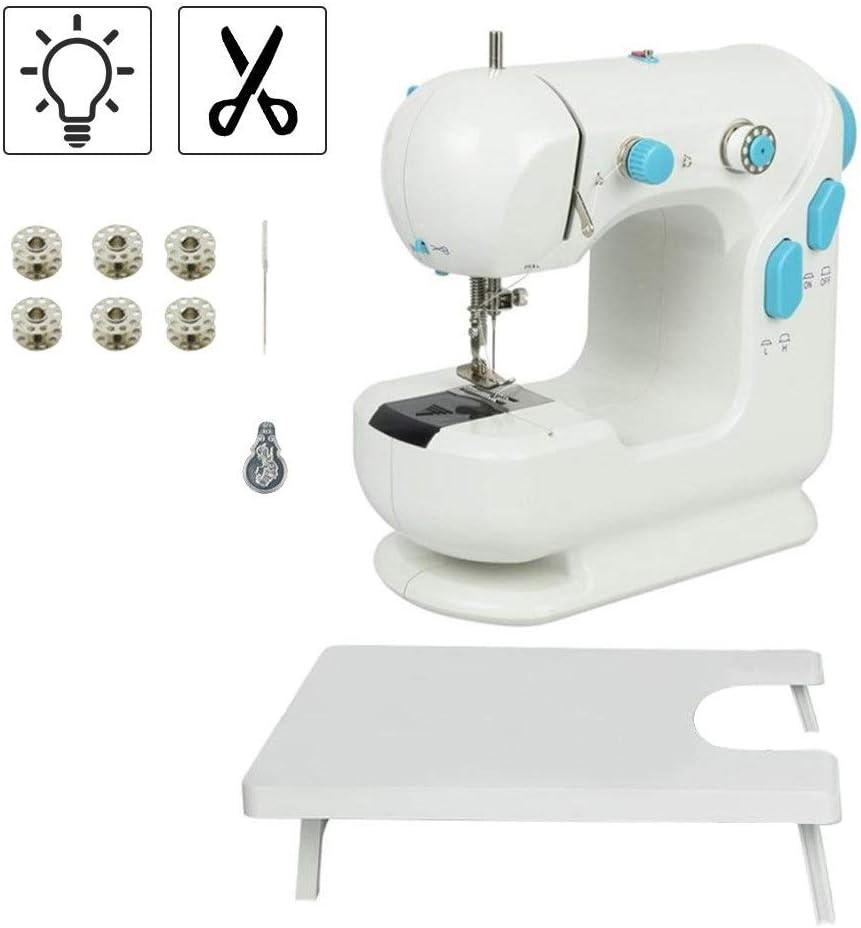 Mini máquina de coser portátil, TOPQSC Máquina de coser portátil ...