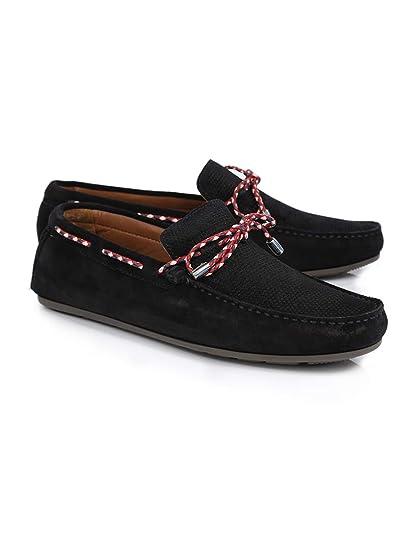 Zapatos Hombre Mocasines Naúticos Tommy Hilfiger Fm0fm01433 Azul 42: Amazon.es: Zapatos y complementos