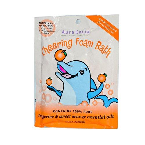 Aura Cacia Foam Bath Cheering Tangerine & Sweet Orange -- 2.5 ()
