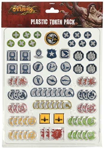 CMON Plastic Token Pack Board Game (Plastic Token)