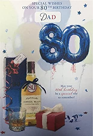 80Th Birthday Card Male Titles Brother In Law Uncle Dad Husband Grandad