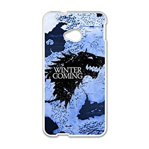 Happy Game of Thrones Brand New And Custom Hard Case Cover Protector For HTC One M7