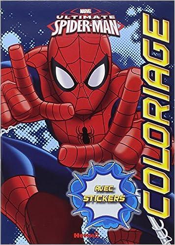 Marvel ultimate spider man coloriages avec stickers pdf - Marvel spiderman comics pdf ...