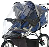 InStep Weather Shield Double for Swivel Wheel Jogger Stroller