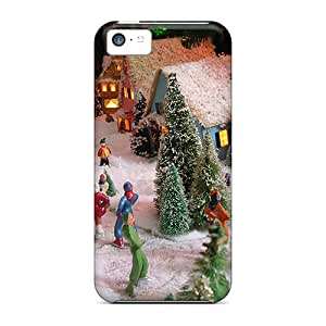 Iphone 5c Cases, Premium Protective Cases With Awesome Look - Christmas Village View1