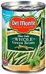 Del Monte Whole Green Beans, 14.5-Oun...