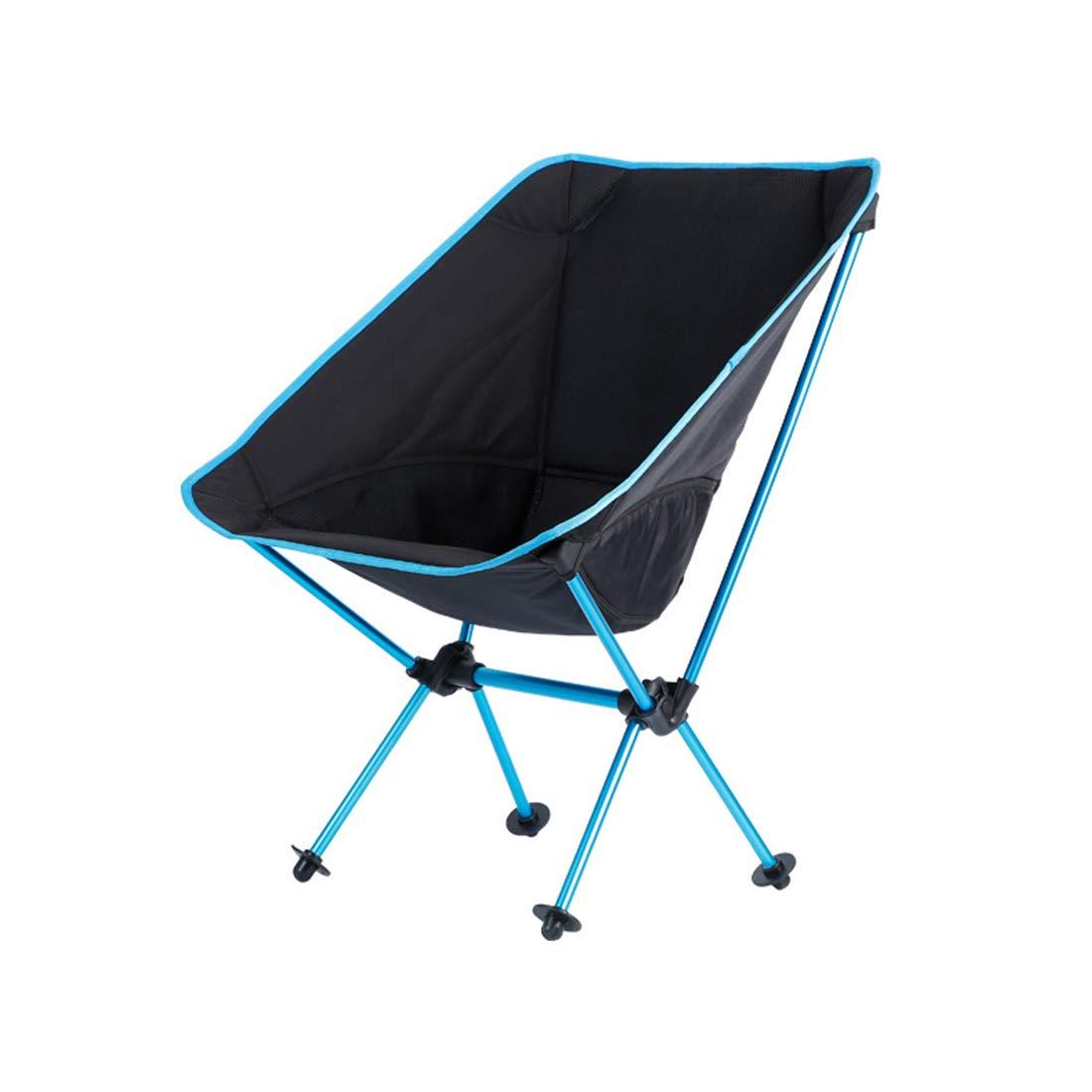 FUBULECY Outdoor Stuhl Kompakte Stuhl Montiert kompakte leichte Mobile Bequeme Faltbare Art Mobile Stuhl Mobile Bequeme Camping Barbecue Angeln Portable