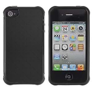 Pulsar Defender Series Tpu silicona Carcasa Funda Case para Apple iPhone 4 / iPhone 4S , Simple Pattern 2