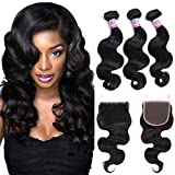 Mike & Mary Top 7A Brazilian Wavy Hair 3 Bundles 26