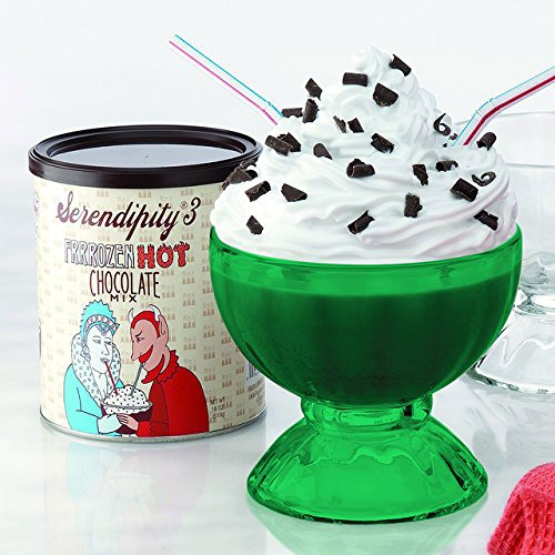 Full E-Green Color Serendipity Frozen Hot Chocolate Party Gift Box (as seen on
