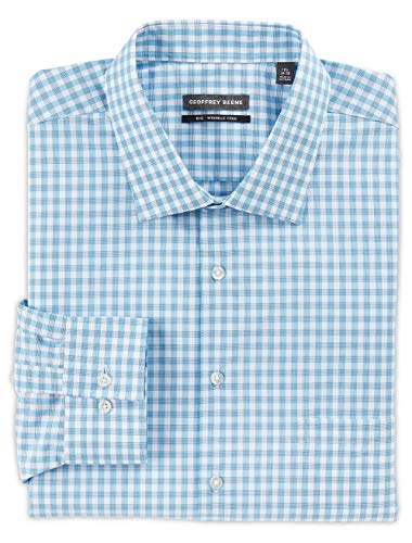 Women Clothing Beene Geoffrey (Geoffrey Beene Big and Tall Check Dress Shirts)