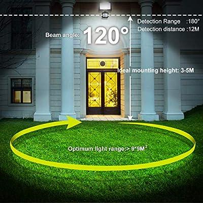 MEIKEE 50W Foco LED Exterior, 5000lm Iluminación de Seguridad con ...