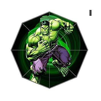 Hulk de Los Vengadores paraguas paraguas de diseño de moda para hombre y mujer 0154