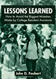 Lessons Learned, John D. Foubert, 0415954681