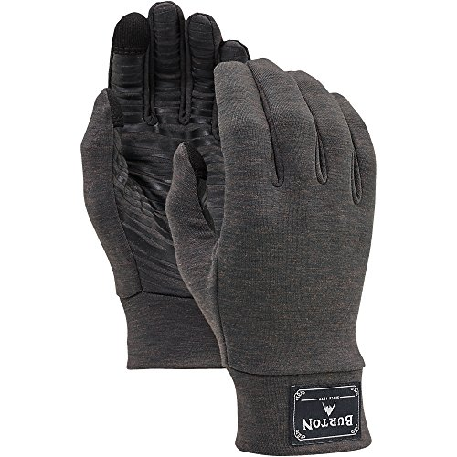 Burton Drirelease Wool Liner, Black Heather, Large/X-Large