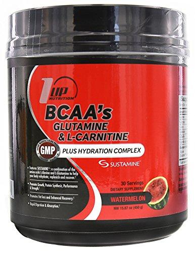 1 place Nutrition BCAA Glutamine & L-Carnitine + hydratation complexe 30 portions pastèque