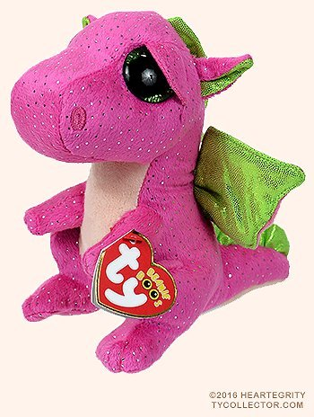 New TY Beanie Boos Cute Darla the dragon Plush Toys 6 15cm Ty Plush