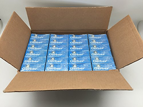 Case of Gerber Disposable Bottle Liners - Pre-sterilized - 100 Ct/box - 24 Box Case (2400 Liners) - $SAVE$! (Pre Disposable Sterilized Liners)