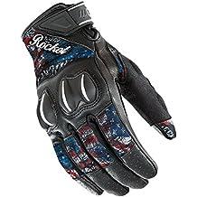 Joe Rocket 1553-1012 Cyntek Ladies Gloves , Distinct Name: Empire, Gender: Womens, Primary Color: Black, Size: Sm