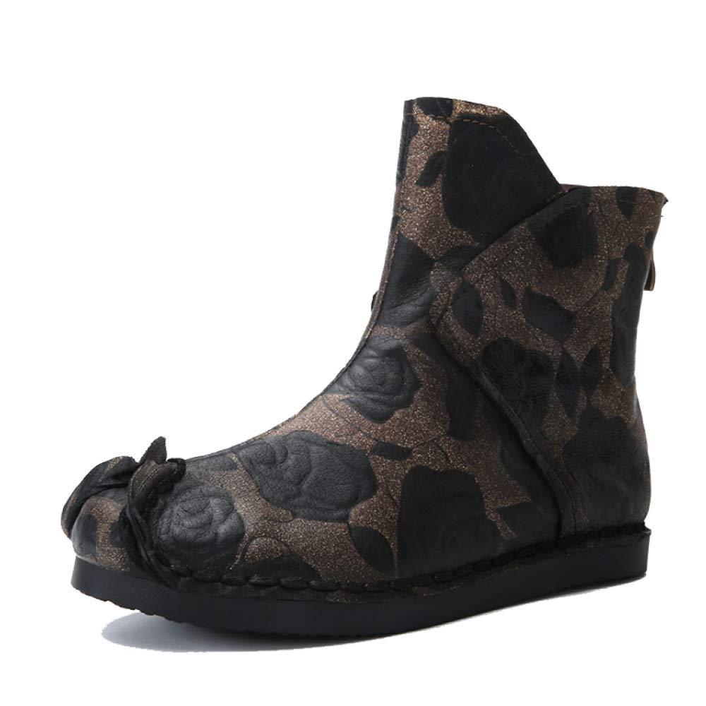 ZPEDY Chaussures Confortable, pour Chaussures Femmes, ZPEDY Rétro, Personnalité, Bottines, Décontracté, Confortable, Portable Black f188fb2 - boatplans.space