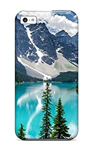 XiFu*MeiPremium Protection Moraine Lake Banff National Park Case Cover For ipod touch 4- Retail PackagingXiFu*Mei