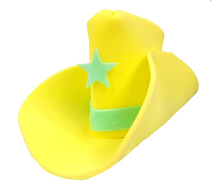 Image Unavailable. Image not available for. Colour  Windy City Novelties  Giant Yellow Foam Cowboy Western Party Hat 06a1452f0e3