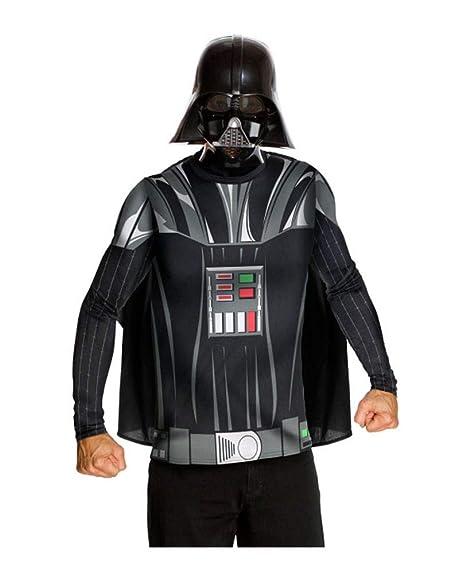 Horror-Shop traje de Darth Vader con la máscara M: Amazon.es ...