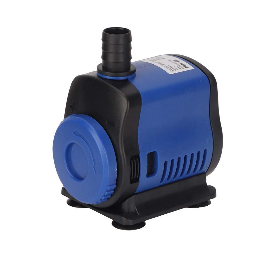 Pssopp Bomba de Acuario Bomba de Agua Sumergible Ultra silenciosa Estanque de Peces Acuario Tanque de Fuente Fuente de Olas para Acuario de Acuario 5W