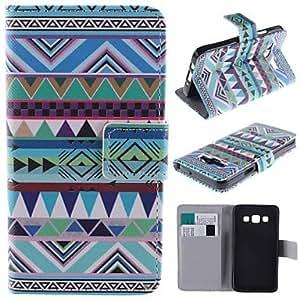 GDW Teléfono Móvil Samsung - Carcasas de Cuerpo Completo - Gráfico/Diseño Especial - para Samsung Galaxia A5 ( Multi-color , Cuero PU )
