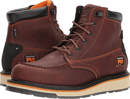 Timberland PRO Men's Gridworks Moc Soft Toe Waterproof Industrial Boot, Brown, 11.5 M US ()