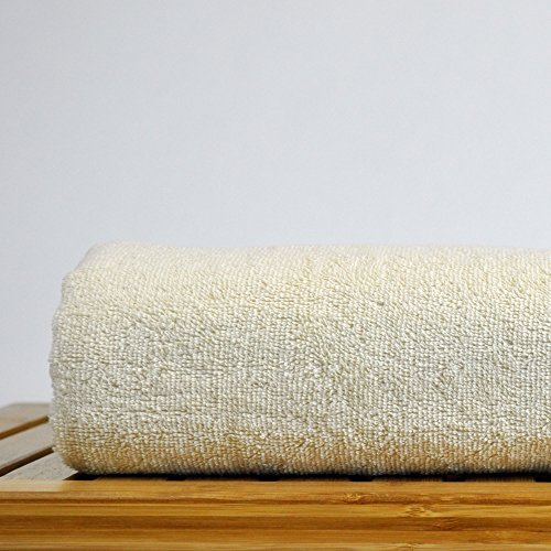 Chakir Turkish Linens Turkish Cotton Luxury Hotel & Spa Bath Towel, Bath Towel - Set of 4, Beige by Chakir Turkish Linens (Image #4)