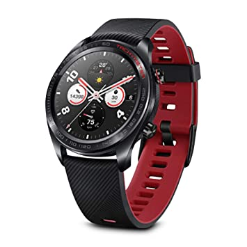 Original Huawei Honor Watch Magic Outdoor NFC Smart Watch Sleek Slim Long Battery Life GPS Scientific Coach 1.2 inch HD AMOLED 390x390 Color Screen ...