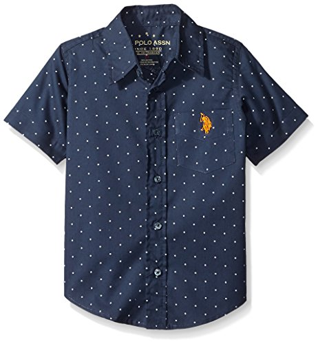 U S Polo Assn Sleeve Chambray