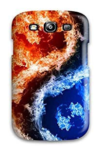 New Hot And Cold Tpu Case Cover, Anti-scratch JessicaBMcrae Phone Case For Galaxy S3