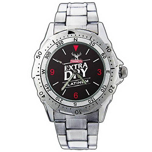 mens-wristwatches-pe01-1290-tooheys-extra-dry-platinum-beer-stainless-steel-wrist-watch