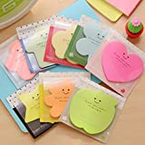 seguryy 1pc Lovely Memorandum with Cover Self-stick Notes Writing Pads & Diaries