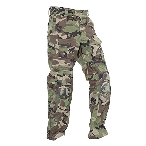 (Valken Tactical Tango Combat Pants, Woodland, Small)