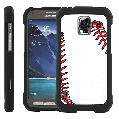 BaseBall [SLIM FIT] Design Graphic Image Shell Cover Hard Case for Samsung Galaxy S5 Active G870A