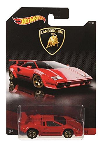 Hot Wheels Lamborghini Countach, Multi Color