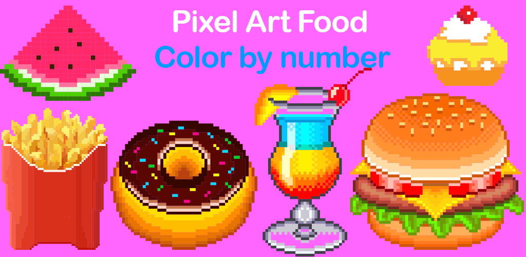 Pixcolor Color Pixel Art Coloring Book Draw Number