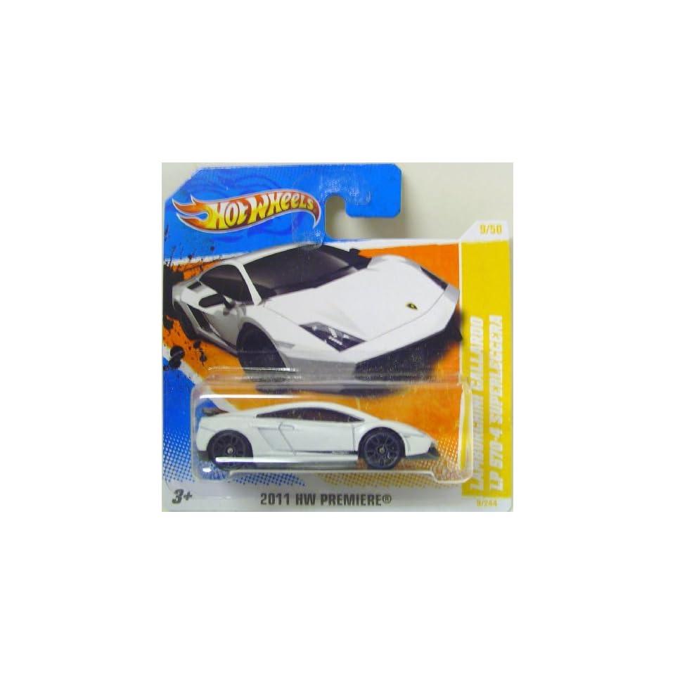 Hot Wheels 2011 HW Premiere Lamborghini Gallardo LP 570 4 Superleggera Collector #9