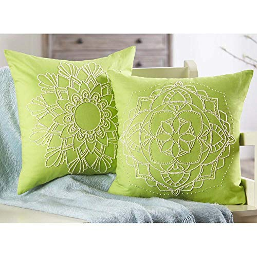 Herrschners® Mandala I & 2 Candlewick Pillow Covers Candlewicking ()