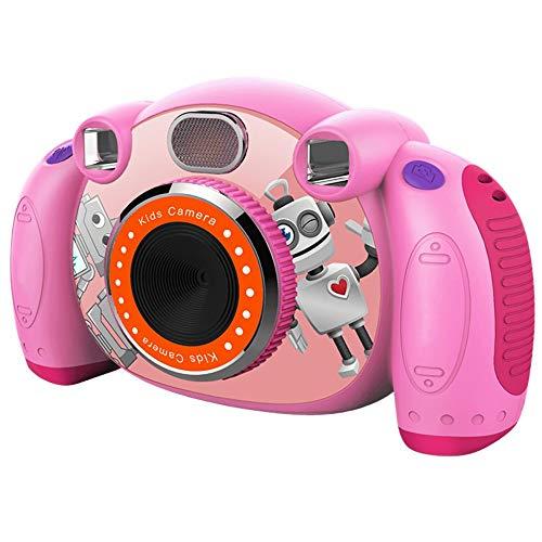 Pinzhi Cameras Mini Digital Children's Camera SLR Double Lens Sports Toy Camera Festival Toy Gift Video Camera Smart Camera for Beginners