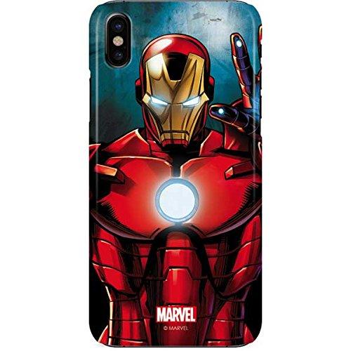 the best attitude 03a34 f6528 Amazon.com: Ironman iPhone X Case - Ironman | Marvel X Skinit Lite ...