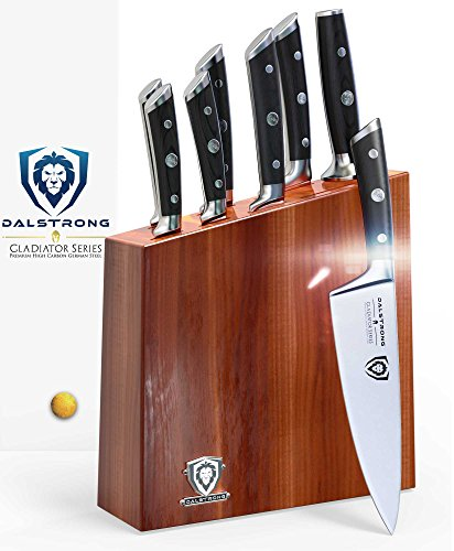 DALSTRONG Knife Set Block - Gladiator Series Knife Set - German HC Steel - 8 Pc by Dalstrong
