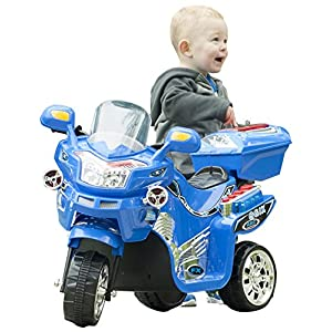 Lil' Rider 3 Wheel Battery Powered FX Sport Bike - Blue Ride On