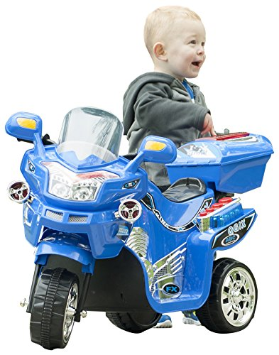 Lil' Rider 3 Wheel Battery Powered FX Sport Bike - Blue Ride On