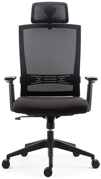 Staples 2719543 Tarance Mesh and Fabric Task Chair Black
