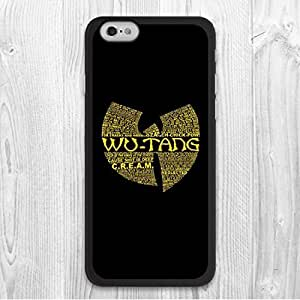 """For iPhone 6 / 6 Plus Case, Wu Tang Pattern Fashion Design Protective Hard Phone Cover Skin Case For iPhone 6 Plus (5.5"""") + Screen Protector hjbrhga1544"""